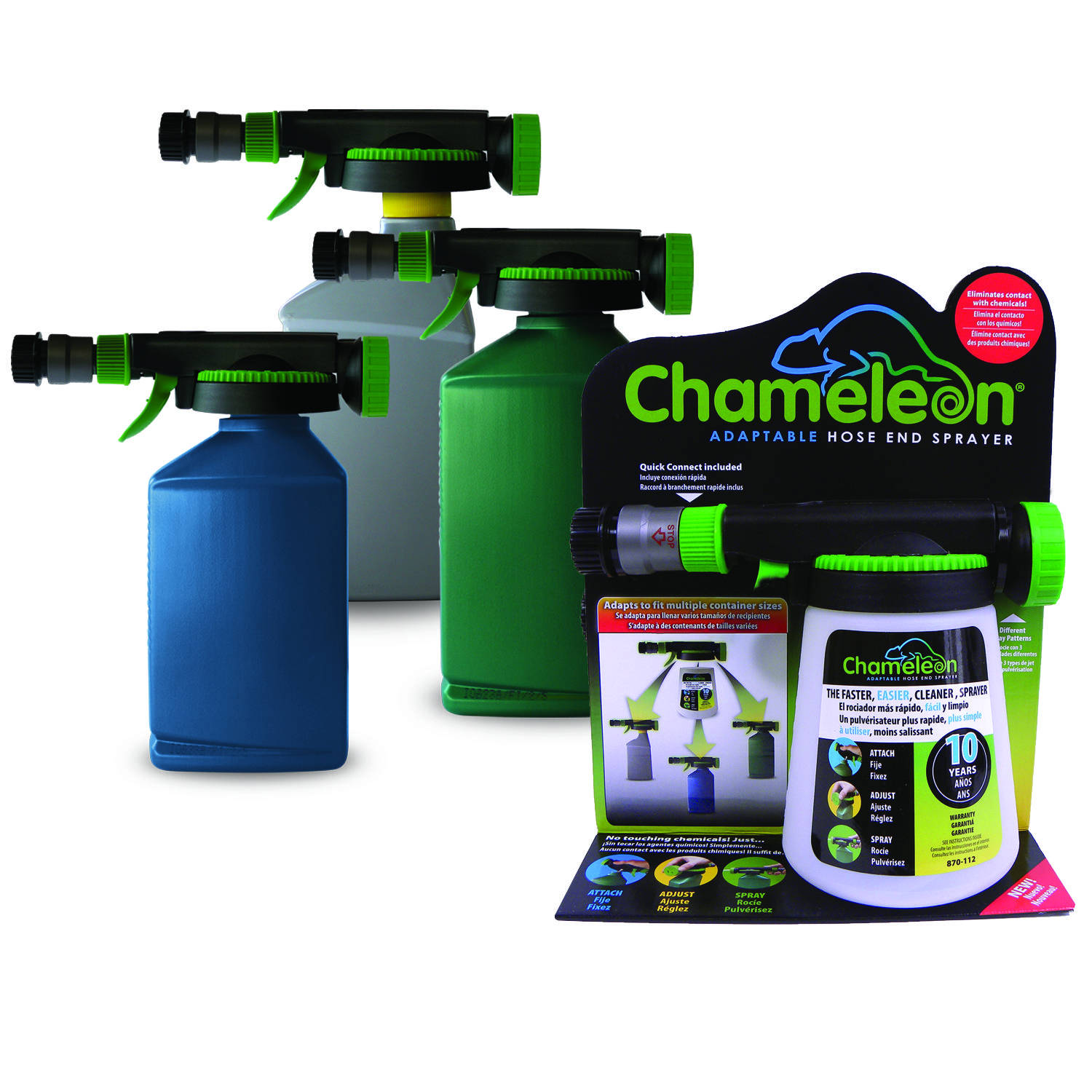 chameleon hose end sprayer instructions