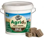 Motomco Agrid3 Organic Bait Chunx Pail 4 Pound