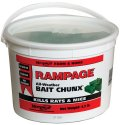 Motomco Rampage All-Weather Bait Chunx Pail 4.2 Pound